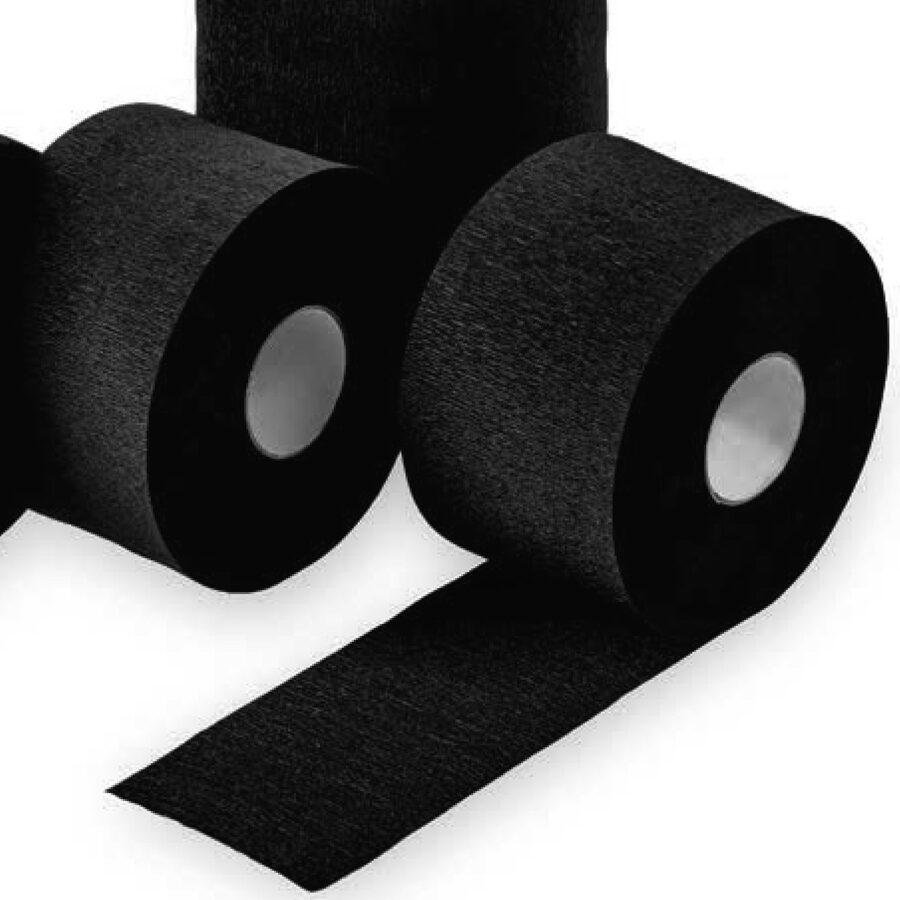 Melns kakla aizsargpapīrs, 500 loksnes.
