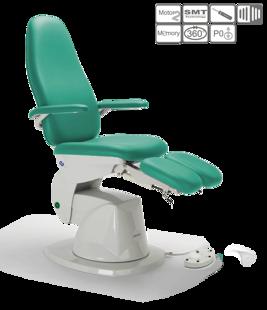 DELTA pedikīra krēsls